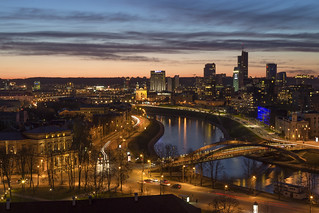 Vilnius from the hill