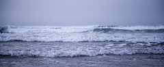 Breaking Waves (Hannah_Nieman) Tags: adventuresinoregon cannonbeach oregon travel unitedstates america ocean waves outside water sea coast pacificnorthwest oregoncoast