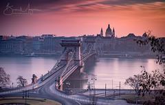 Danube Daybreak (BPMphoto) Tags: buda budapest pest danube hungary dawn daybreak sunrise fujifilm fuji xt2 1024mm lee bigstopper longexposure