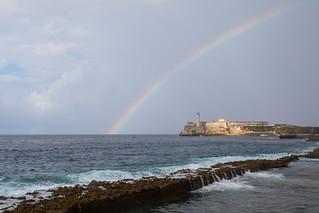 Rainbow over the Ocean, Havana