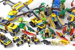 LEGO City Jungle All Sets 33 (noriart) Tags: lego city jungle all sets