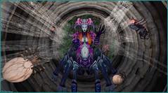 Arachnophobie (Tim Deschanel) Tags: tim deschanel sl second life art hihokan erotic museum orburs araignée arachnophobie érotique