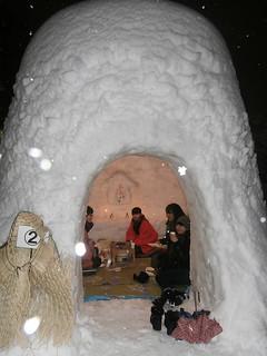 Japanese Snow Hut - Kamakura