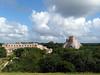 Uxmal, 2017 (_EdG_) Tags: uxmal mexico yucatan sunny maya pyramid clouds sunnyday building