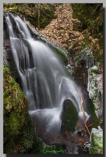Cascade Erzenbach - Haut Rhin - Alsace