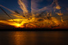 DSC04908 (tmalone893) Tags: sun sunset sky skyline water clouds sigma sony alpha6500 a6500 30mm tennessee memphis