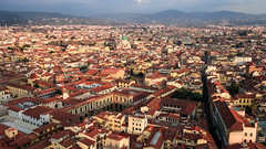 View @Florence (Ramireziblog) Tags: florence sunset golden hour city italy mountains stad zon canon 6d
