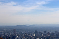 Mount Hood at distance (elianek) Tags: oregon portland panoramic panoramica pittock mansion usa eua estadosunidos unitedstates