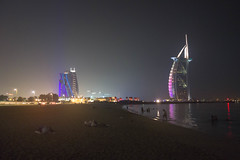 Burj-al-Arab (Peter_069) Tags: dubai burjkhalifa night nacht burj khalifa emirates arabischeemirate arabia hochhaus turm wolkenkratzer skyscraper sky tower dessert wüste sand sonne sun hitze palm palme burjalarab hotel luxus luxury