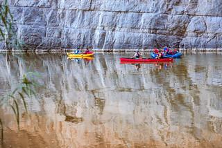 Santa Elena Canyon -canoe 12.30