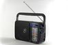 Radio_Panasonic-RF-2400EG9-K_schraege_Frontansicht_Regenbogeneffekt_Skala_2018 (Veit Schagow) Tags: radio receiver broadcast rundfunkempfänger panasonic rf2400eg9k tabletop
