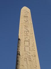 Hatshepsut Obelisk, Karnak Temple (Aidan McRae Thomson) Tags: karnak temple luxor egypt ancient egyptian ruins