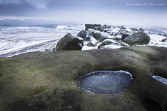 Stone Cold [EXPLORED] (marc_leach) Tags: stanageedge peakdistrict winter snow landscape rockformation canon tokina1116mm