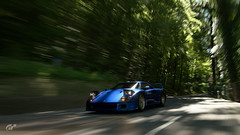 F40 Forest (jandengel) Tags: granturismo gt gts car scapes game ps4 polyphony ferrari f40 road rollingshot forest