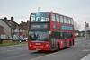 TE1573 - U4 Uxbridge (Gellico) Tags: hayes london bus branding trial metroline route u4 uxbridge enviro 400 te1573