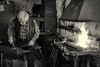 At the artisan blacksmith's place (wwwuppertal) Tags: wuppertal schöllerdornap metallobjektehoffmann bergischesland schmied schmiede forge hanswernerhoffmann anvil amboss kunstschmiede kunstschmied artisanblacksmith eisen iron esse