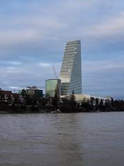 Stairway to (almost) heaven 3 (flickrolf) Tags: skyscraper sky water rhine rhein dirty roche architecture