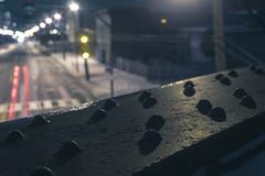 Left Turn Signal (IAmTheSoundman) Tags: jake barshick urban exploring cleveland ohio nightphotography takumar m42 sony a99 manual focus train railroad tracks