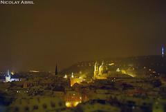 Night view of Prague (Nicolay Abril) Tags: praga praha prag prague prága česko českárepublika républiquetchèque tchéquie repúblicacheca chequia czechrepublic czechia csehország csehköztársaság tschechien tschechischerepublik
