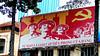 Party Poster - Ha Noi (VIETNAM) (ID Hearn Mackinnon) Tags: hanoi ha noi vietnam vietnamese viet south east north 2016 party poster propoganda street wall building city urban inner communist hammer sickle