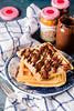 Waffle (Manuela Bonci Photography) Tags: food foodph foodphotography foodphotographer foodblogger foodblog foodporn foodlovers nikon manuelabonci fotografia macro closeup cibo colazione cake