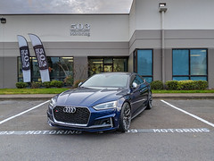 2018 Audi S5 Sportback (Rob Overcash Photography) Tags: audi s5 s5sportback b9s5 b9s4 rs5 vossen abttuning abtsportsline abthas navarrablue pixel2xl