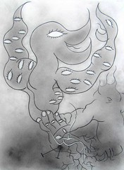 ESPÉRANCE (Claude Bolduc) Tags: artsingulier outsiderart intuitiveart visionaryart surrealism lowbrow artbrut selftaugh spirituality