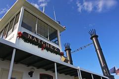 Natchez (skipmoore) Tags: nola neworleans natchez riverboat pilothouse