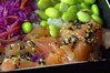 Teriyaki Salmon Sushi Salad (Tony Worrall) Tags: add tag ©2018tonyworrall images photos photograff things uk england food foodie grub eat eaten taste tasty cook cooked iatethis foodporn foodpictures picturesoffood dish dishes menu plate plated made ingrediants nice flavour foodophile x yummy make tasted meal nutritional freshtaste foodstuff cuisine nourishment nutriments provisions ration refreshment store sustenance fare foodstuffs meals snacks bites chow cookery diet eatable fodder teriyaki salmon sushi salad fish purple beans