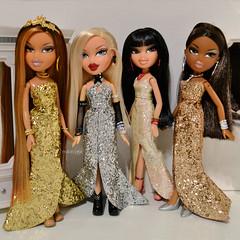 Happy New Year 2018 (Mad Lynx) Tags: bratz doll dolls magic hair yasmin fabulous las vegas cloe flashback fever jade forever diamondz sasha movie starz