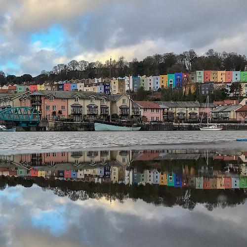 Harbourside puddle