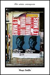 "Paris - ""Art urbain contemporain"" - 2018 (roger gabriel simon) Tags: affichage insolite mur canonpowershotg5x arturbain streetphotography plakate cityscape streetart flickr"