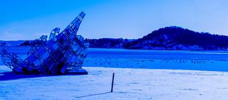 Icy Oslofjord
