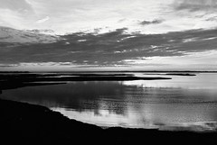 R1-035-16 (David Swift Photography) Tags: davidswiftphotography newjersey oceancitynj bay bayshore greateggharborbay seashore jerseyshore water wetlands 35mm dusk nikonfm2 ilfordxp2 film sunset nature