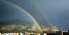 IMG_20180211_160457 - monte pellegrino e il castello utveggio (molovate) Tags: arcobaleno tafme utveggio castello montepellegrino cielo azzurro volate centro città xiaomi redmi note3 parco lafavorita