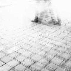 Monday (Darryl Scot-Walker) Tags: movement multipleexposure street streetphotography man feet walking lines composition londonstreetphotography londonstreets