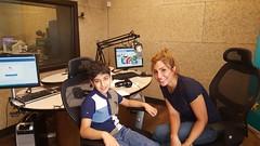 At Fann radio station (Zaid Horani) Tags: zaidhorani زيدالحوراني amman jordan kids fannradio