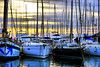 Port Mataró (Fnikos) Tags: port puerto porto harbour sea water waterfront sky cloud sunset boat vehicle outdoor