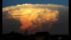 Atomic storm clouds (HMIMYW5N5E5YQIIEQST7V3T3SA) Tags: thunderstorm sunset storm timelapse russia 2017 video epic
