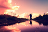 Gallery of the Not Good Enough (iratebadger) Tags: nikon nikond7100 d7100 dark lightroom light lowperspective rural reflections water sky countryside clouds colours silhouette shadows human person perspective england iratebadger