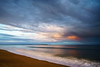 Departing Storm (mike_dooley) Tags: maine oldorchardbeach pier seascape sunset