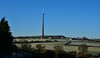 Emley Moor Mast - January Skies (littlestschnauzer) Tags: rural countryside britain uk emley moor mast transmitter tower view 2018 winter january fields manmade structure tall blue skies chilly cold