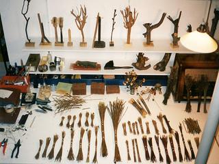 Wolfram Zimmer: Broom Painting - Besen-Malerei
