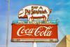 Eat a Pig Sandwich (Thomas Hawk) Tags: america bbq cocacola eatapigsandwich texas usa unitedstates unitedstatesofamerica vintage neon pig postcard fav10 fav25