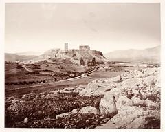 Θέα της Ακρόπολης από τον λόφο του Φιλοπάππου. (Giannis Giannakitsas) Tags: αθηνα athens athen greece grece griechenland 19th century 19οσ αιώνασ ακροπολη acropolis