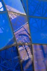 Blue fragments (glukorizon) Tags: 52weeksof2018 art beeld blauw blue centrum delft glas glass hetblauwehart kunst nederland nieuwekerk plastiek reflectie reflection sooc sculpture sculptuur sooutofcamera spiegeling straightoutofcamera theblueheart zuidholland