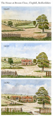 Development of Broom Close, 1649-1690