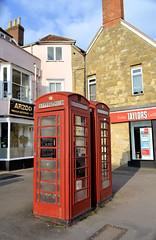 Bicester K6s (R~P~M) Tags: oxfordshire oxon england uk unitedkingdom greatbritain phone telephone box kiosk h6 bicester