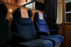 Enjoy the ride (Krzysztof D.) Tags: polska poland polen kolej train pociąg zug przedział compartment interior wnętrze night noc bahn railway wagon pkp intercity