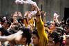 Traslacion devotees. (neilsinadjan) Tags: traslacion2018 religiousfestival festivals blacknazarene manila philippines